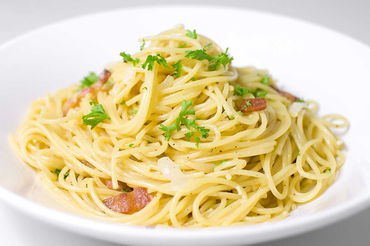 Image result for spaghetti carbonara