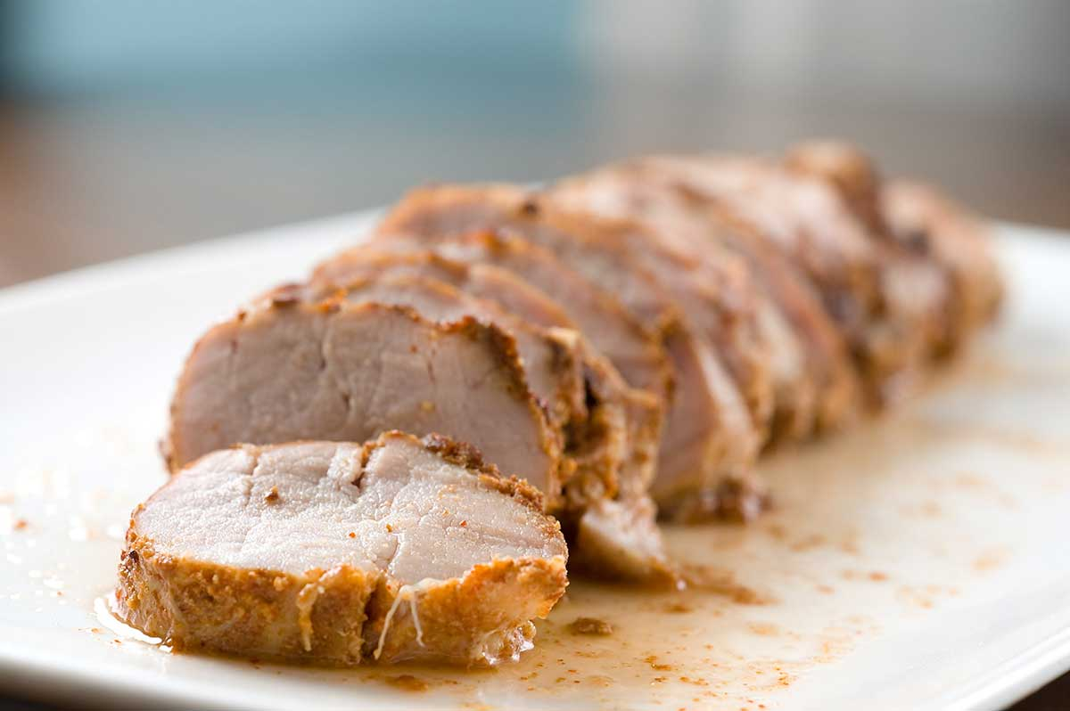 Spiced Pork Tenderloin