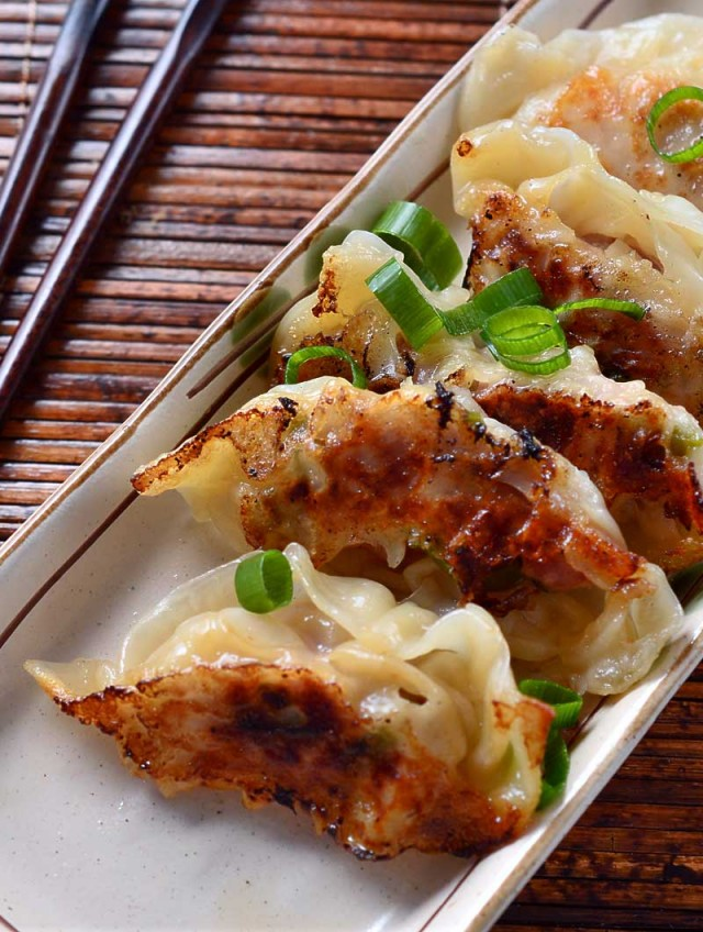 Recipe for Spicy Sesame Chicken Potstickers - Life's Ambrosia Life's ...