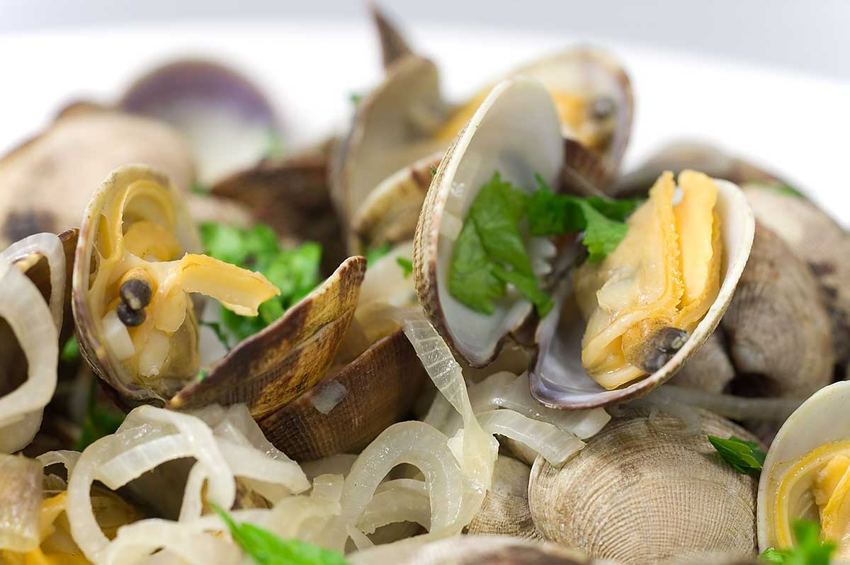 Seafood pasta recipe white wine garlic