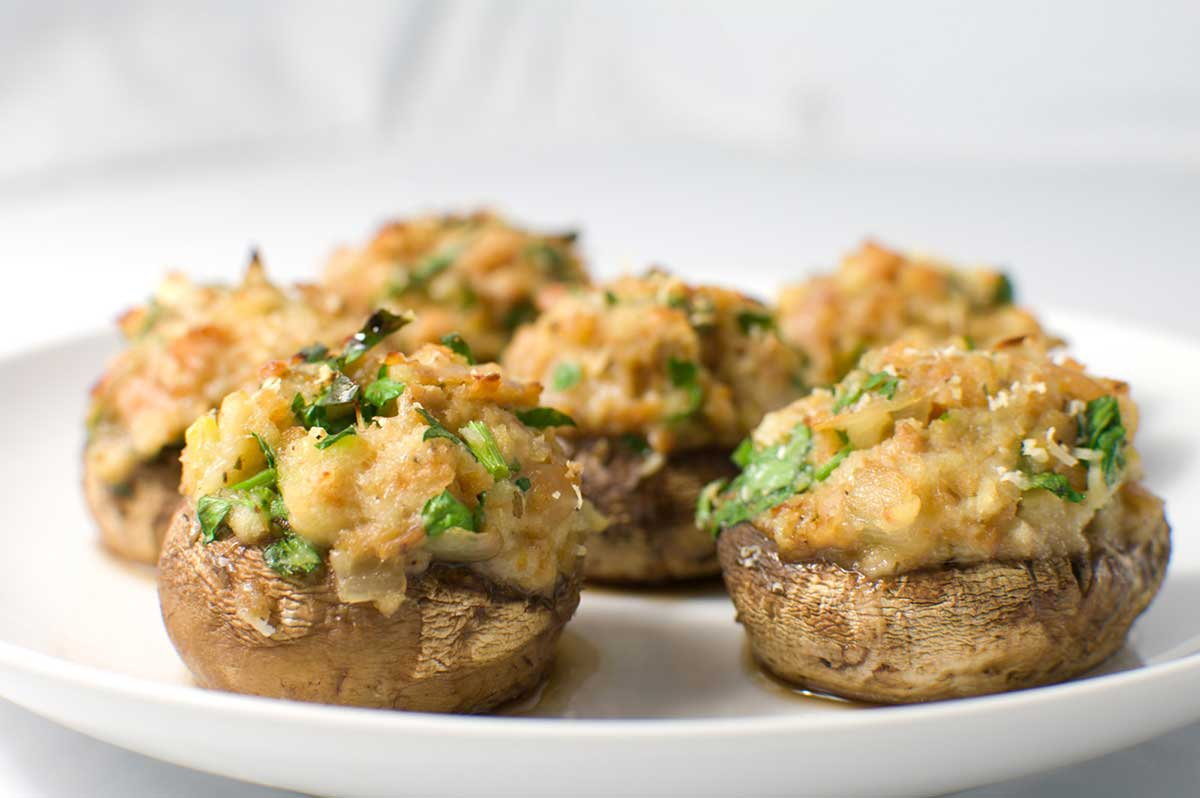 Superb Stuffed Mushrooms