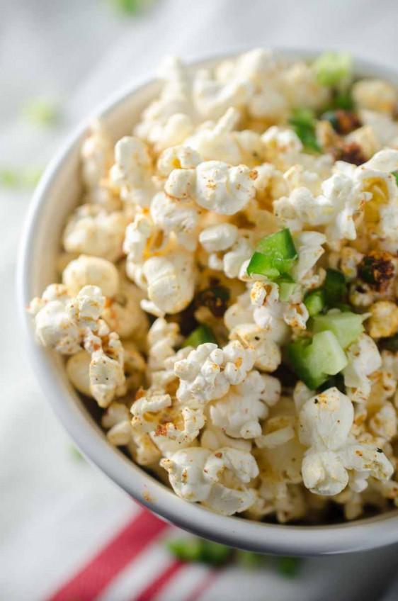Sweet n' Spicy BBQ Popcorn