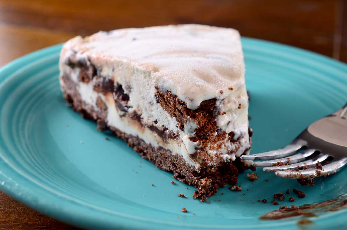 Thin Mint Ice Cream Pie