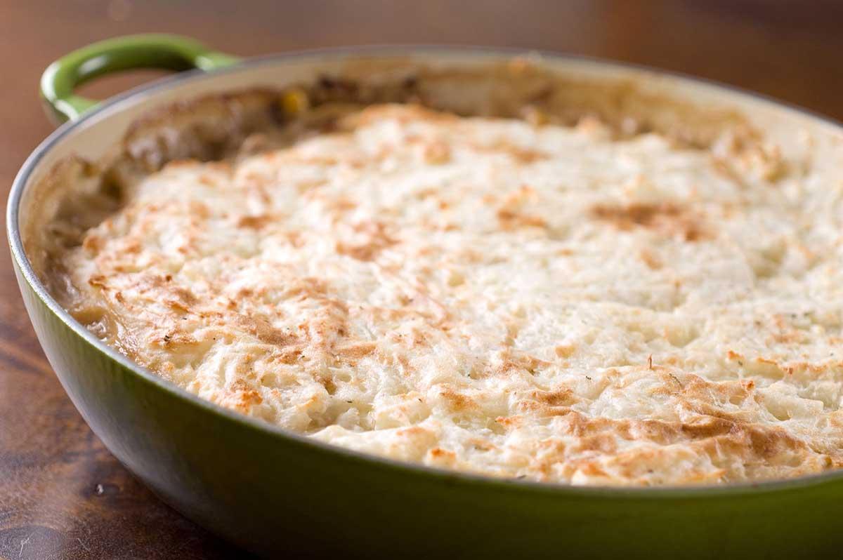 Turkey and Mushroom Shepard's Pie