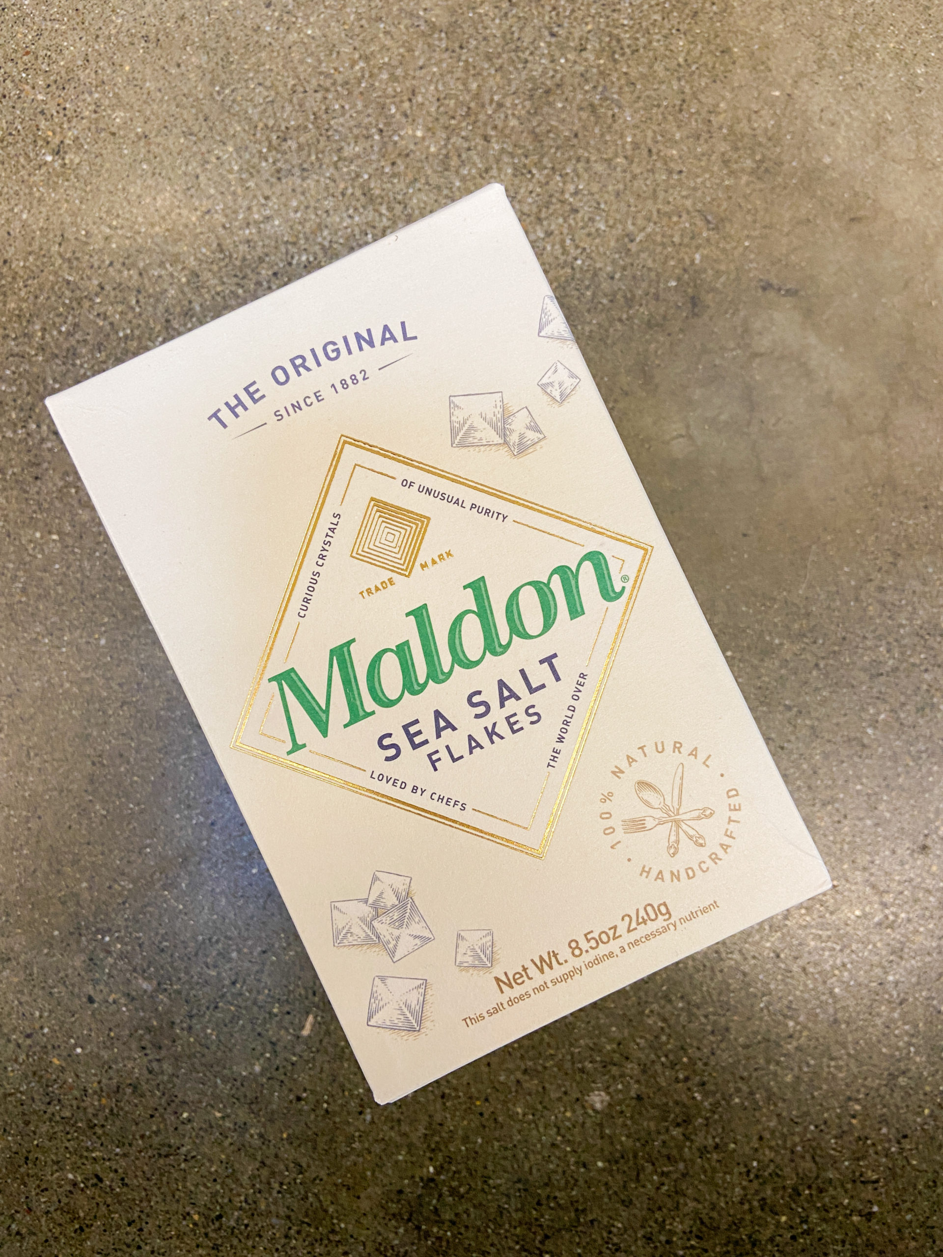 Maldon sea salt.