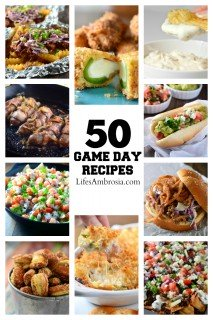 50 Game Day Recipes