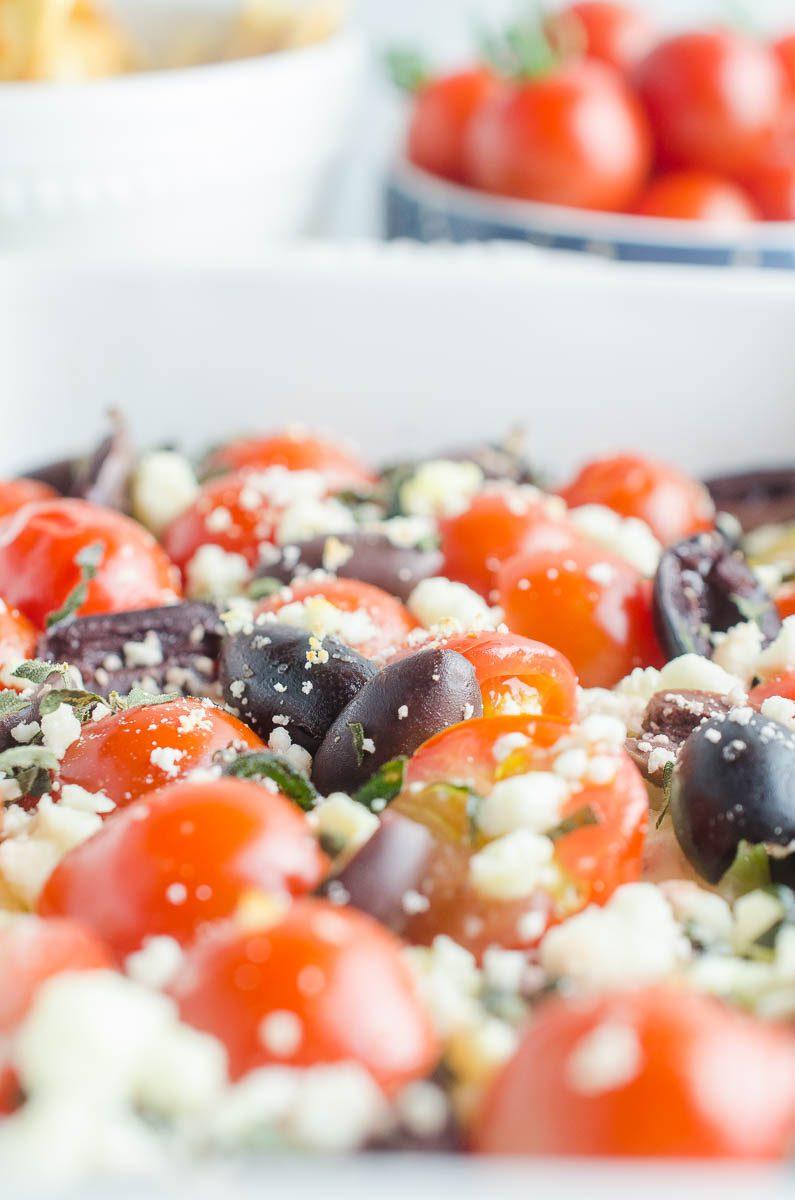 Baked Feta Dip Recipe Greek Feta Dip Life S Ambrosia