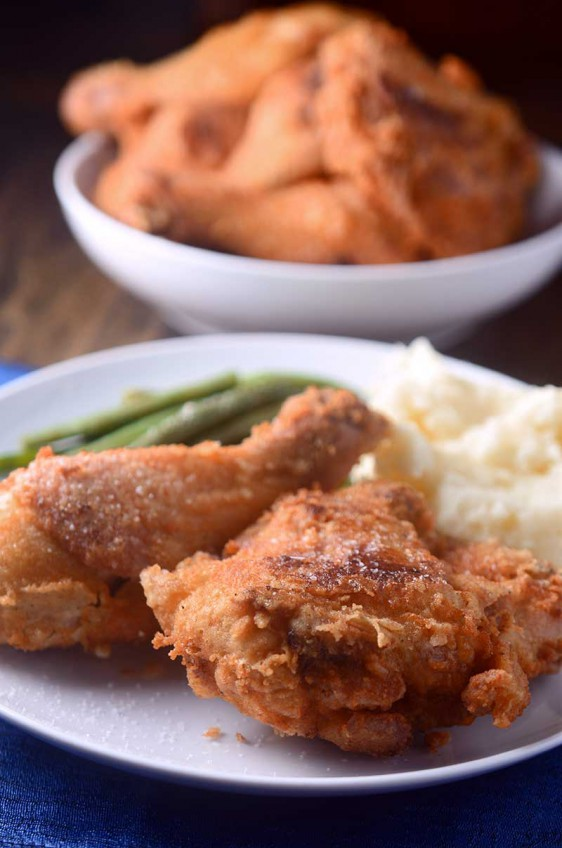 Beer Brined Fried Chicken