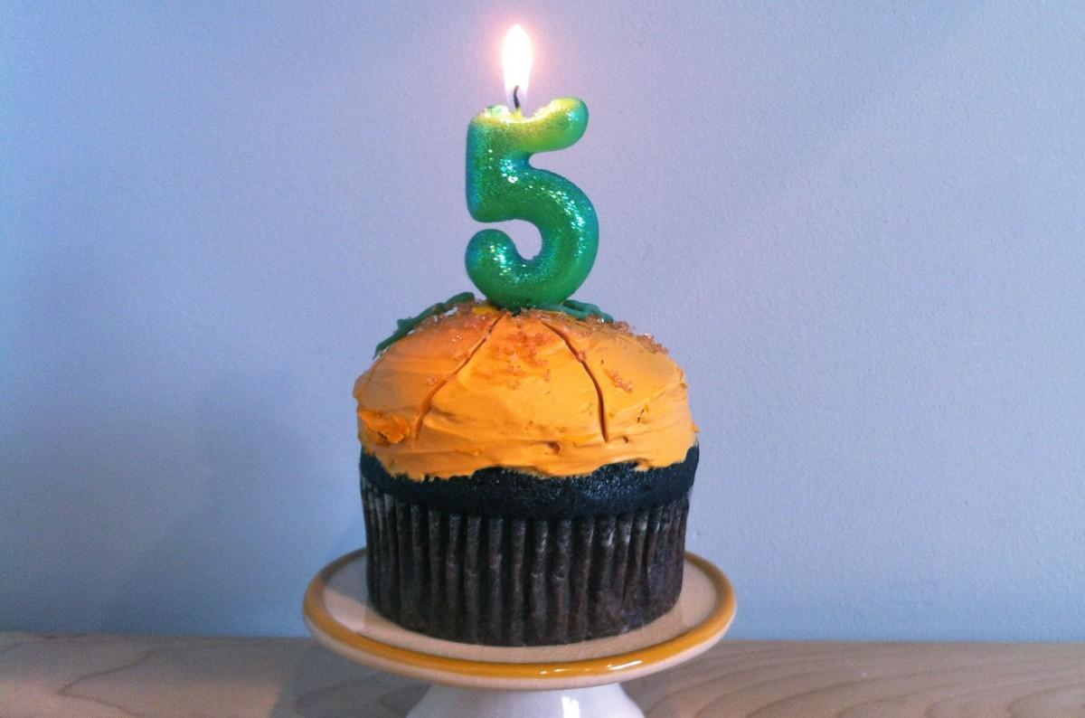 Blogiversary- Life's Ambrosia Turns 5!
