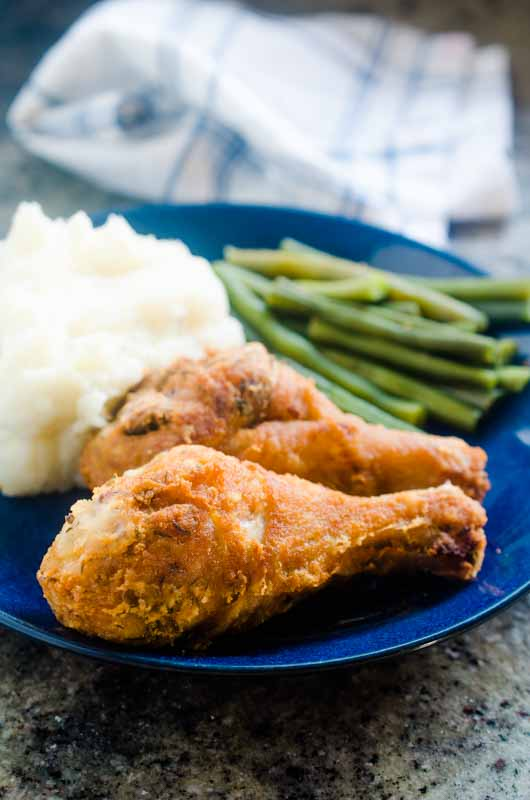 Once you've brined fried chicken, you'll never cook it any other way. Brining is an easy way to ensure your chicken is juicy and has tons of flavor