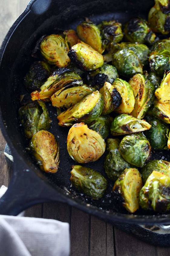 Cajun Roasted Brussels Sprouts