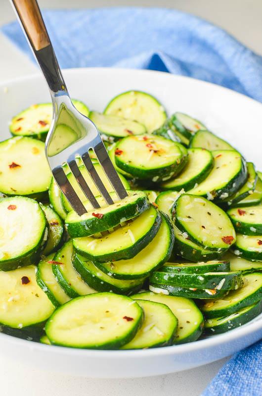 Cold Zucchini Salad Recipe Life S Ambrosia