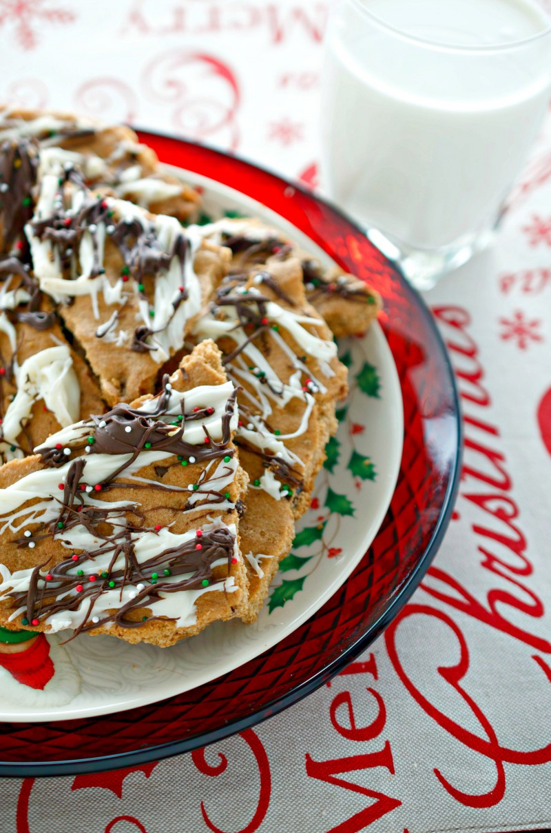 Browned Butter Chocolate Chip Cookie Brittle