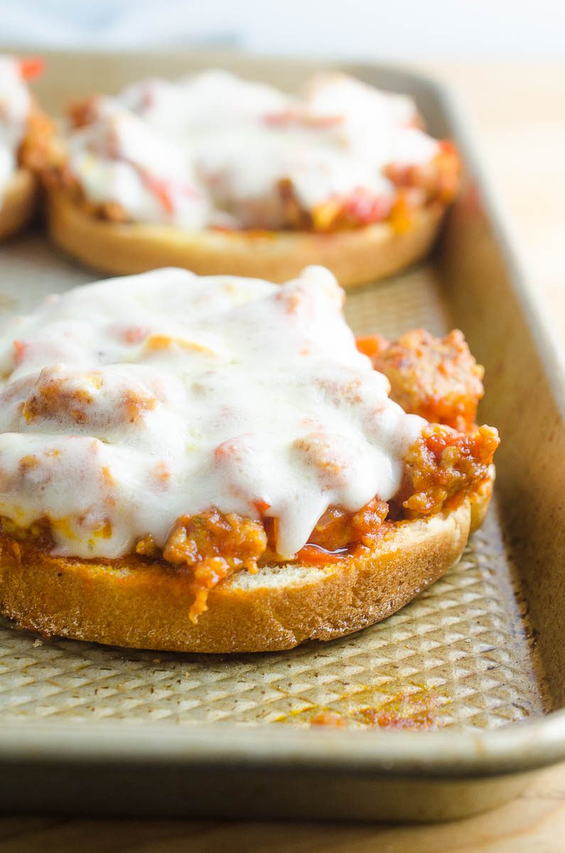 Easy Italian Sloppy Joes