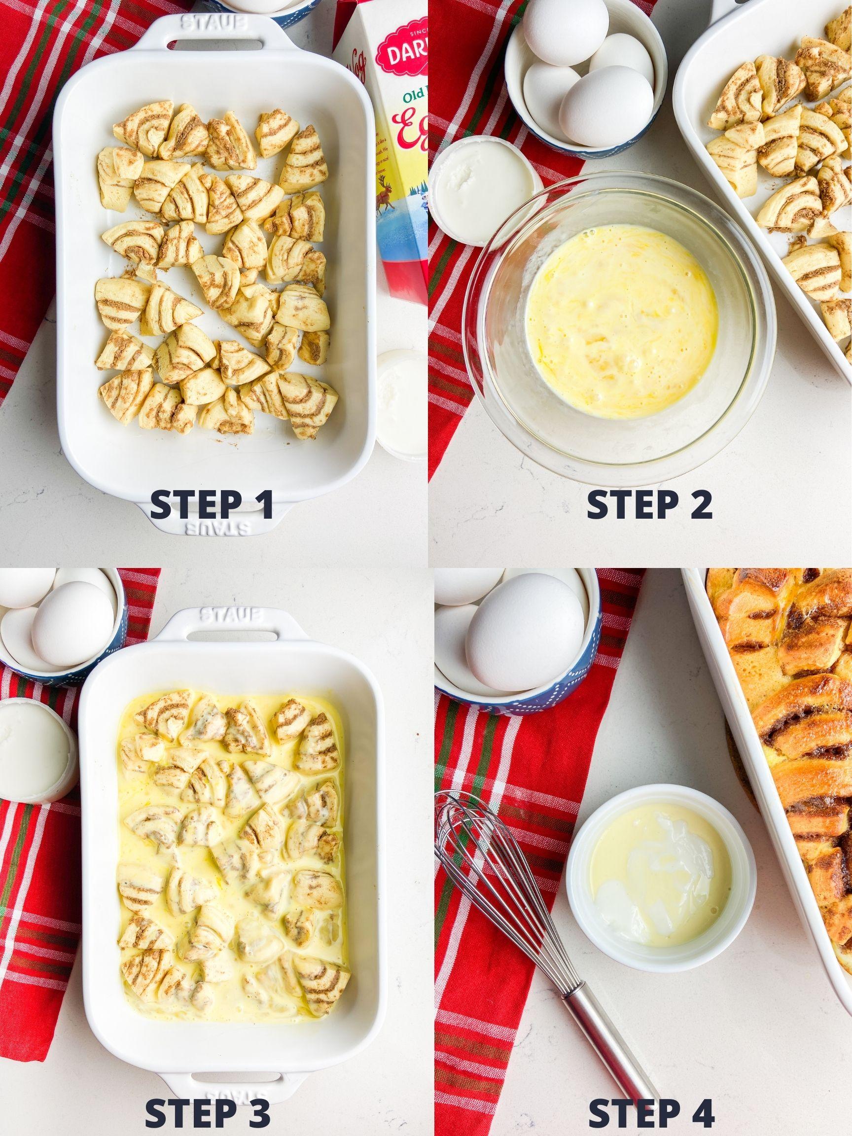 Step by step photos