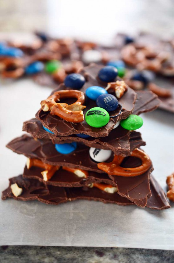 Game Day Candy Bark