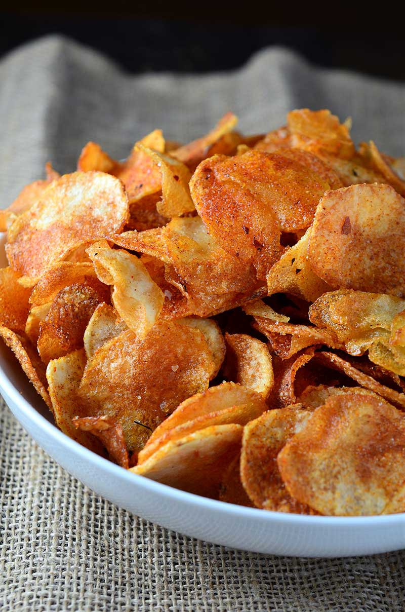 Harissa Potato Chips