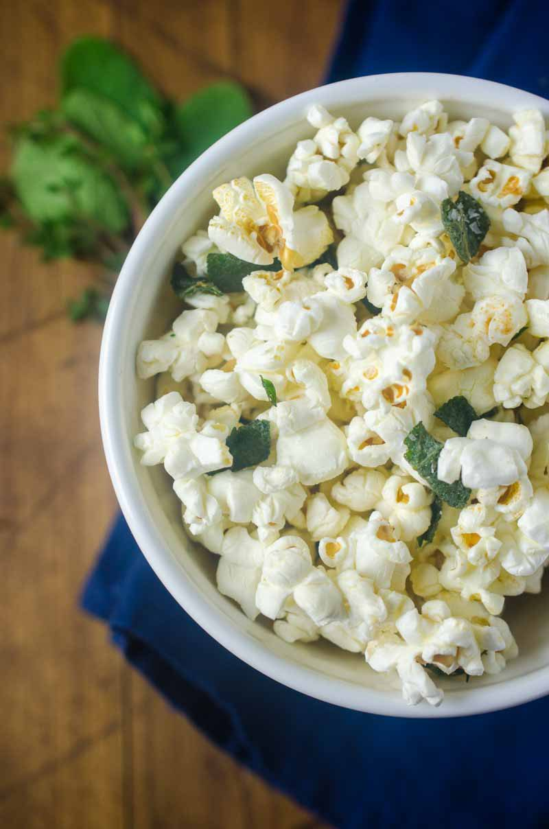 Herb Butter Popcorn