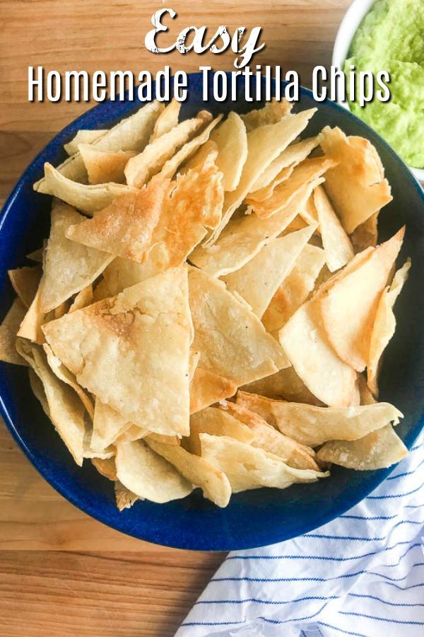 Homemade Tortilla Chips | Baked