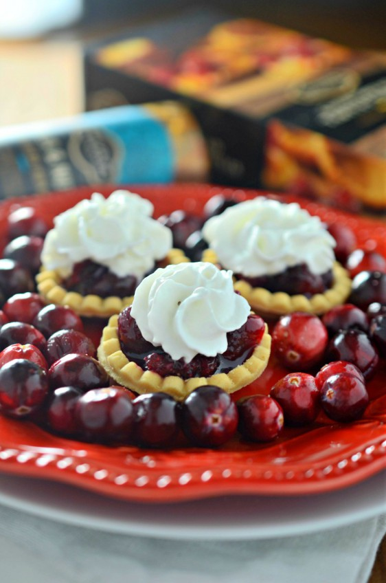 Honey Cranberry Tartlets