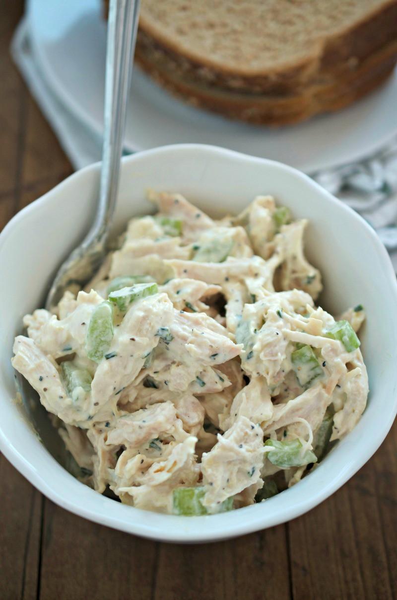Lemon Pepper Chicken Salad Sandwich