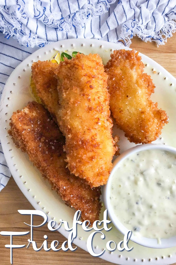 Fried Cod Recipe