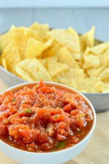 Restaurant Style Habanero Salsa