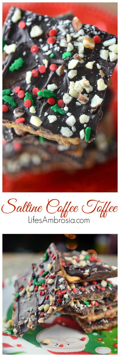 Saltine Coffee Toffee