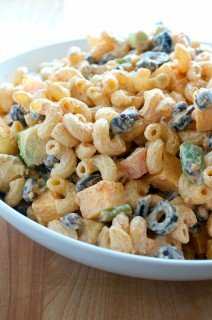 Seven Layer Dip Macaroni Salad