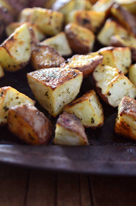 Simple Roasted Red Potatoes