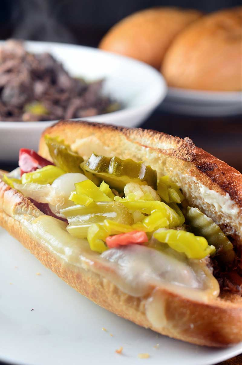 Recipe for Slow Cooker Italian Beef Sandwiches Life's Ambrosia