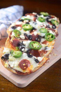 Spicy Pepperoni French Bread Pizza
