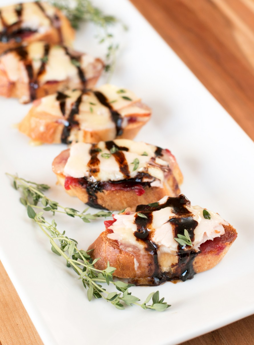 Turkey Brie Crostini