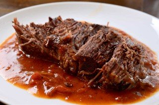 Cajun Pot Roast with Tomato Gravy
