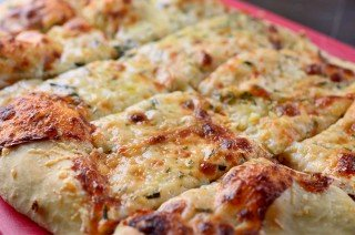 Cheesy Rosemary Breadsticks