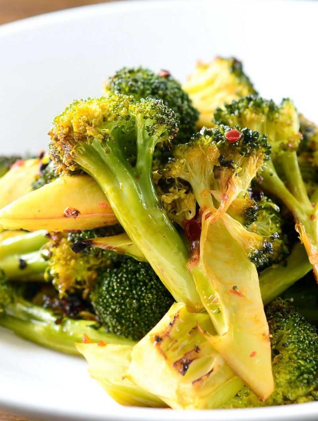 Chili Roasted Broccoli