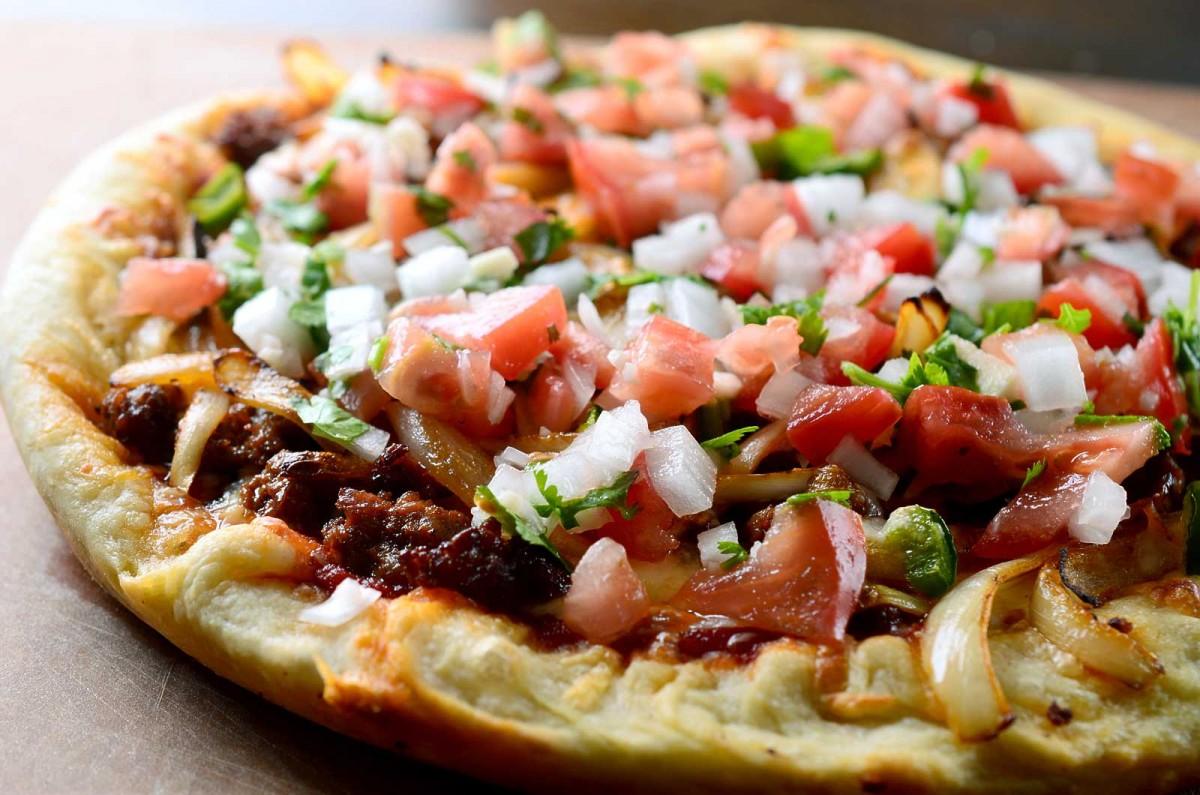 Chorizo Taco Pizza