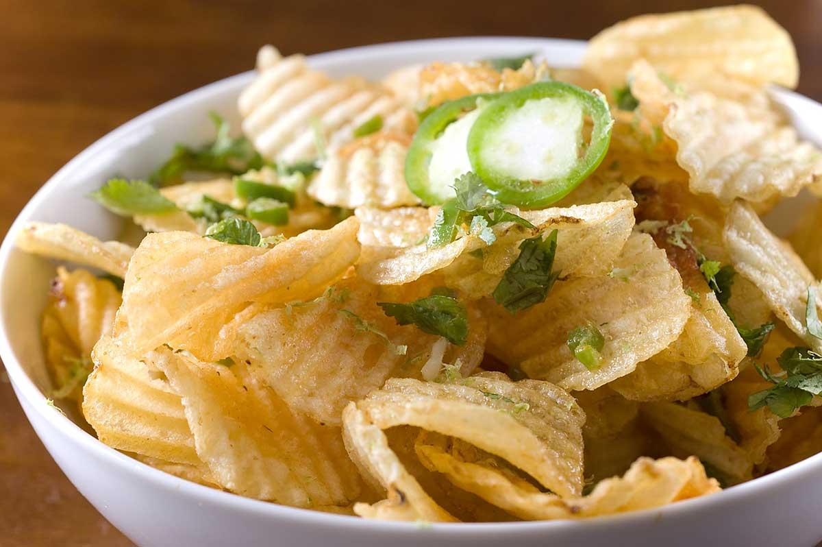 Jalapeno Lime Potato Chips