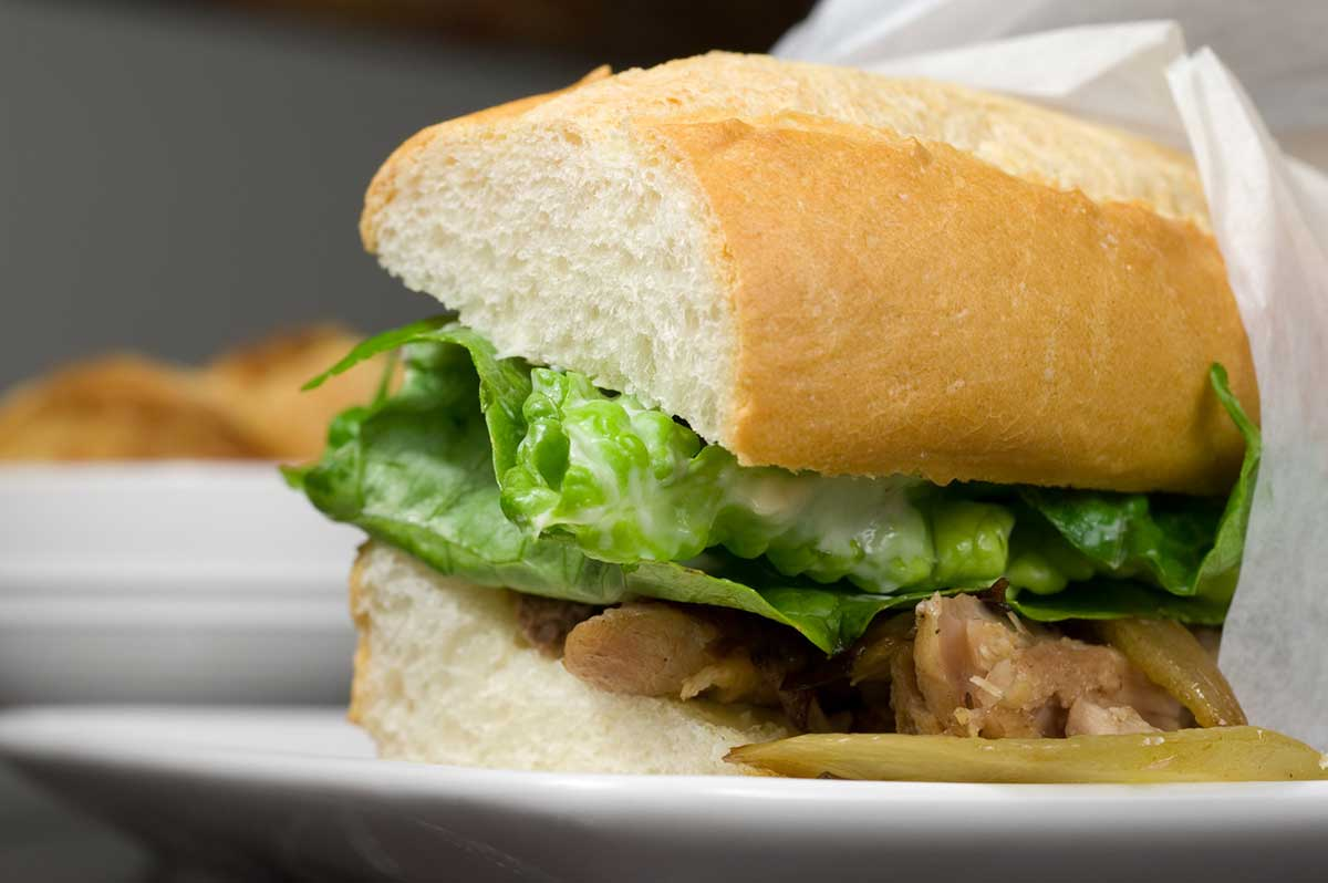 Roasted Pork Sandwiches