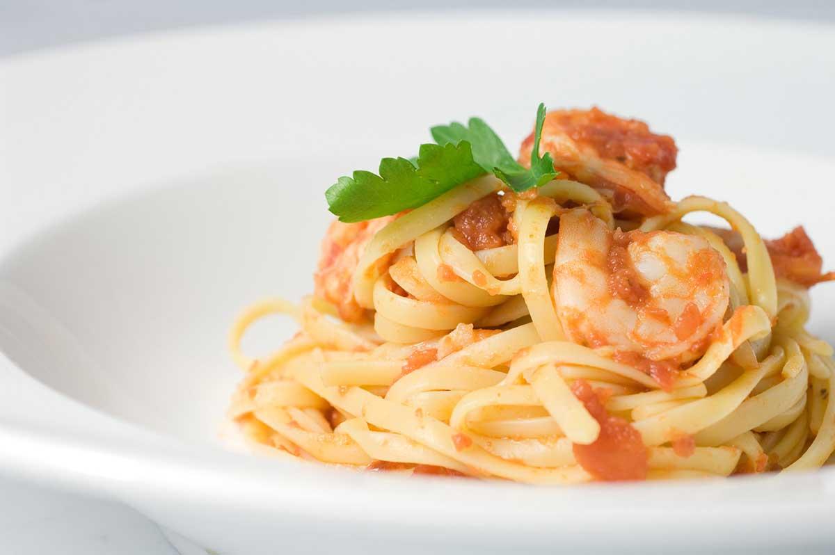 Spicy Prawn and Tomato Pasta